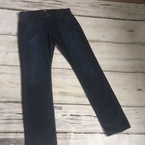 Paige Federal Straight Leg Denim Jeans Cellar 32